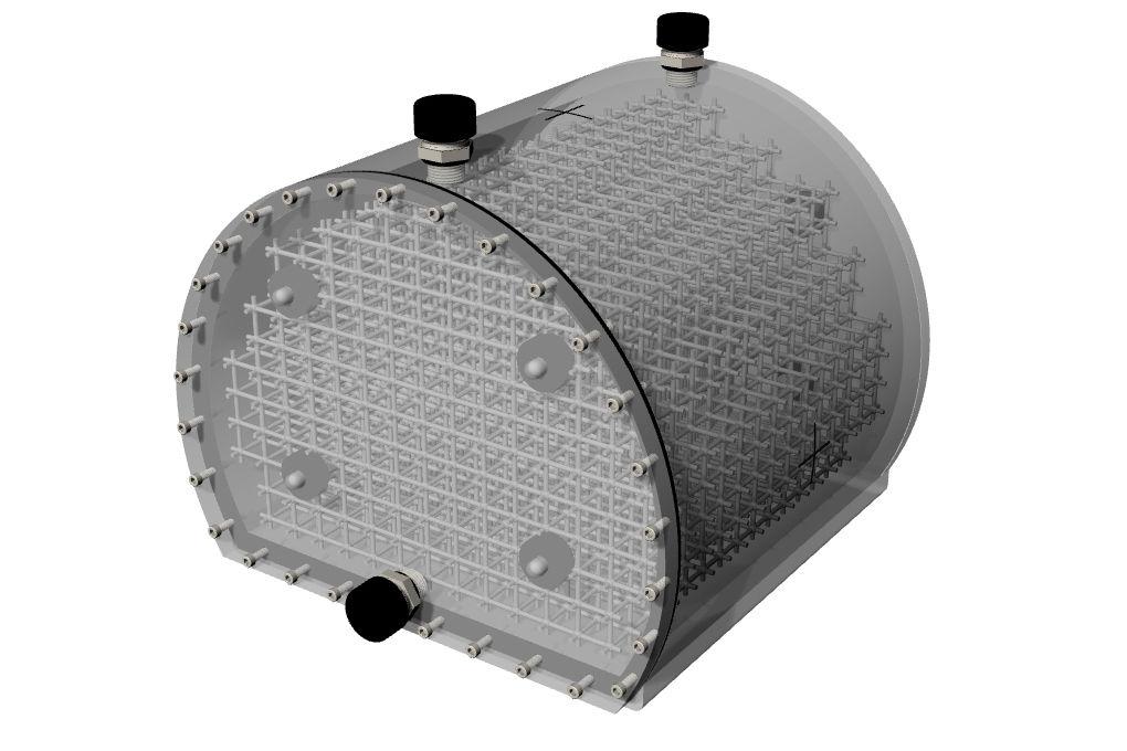 604-GS MRI頭部歪み評価ファントム