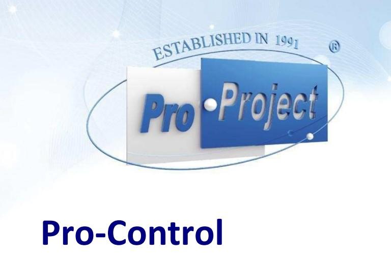 Pro-Controlソフトウェア